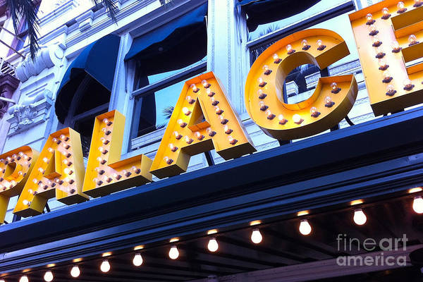 Palace Cafe Art Print featuring the photograph Palace Cafe by Kim Fearheiley