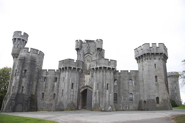 Castles Art Print featuring the photograph Penrhyn castle by Christopher Rowlands