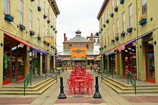 Cincinnati Art Print featuring the photograph Quiet Day at Findlay Market by David Earl Johnson
