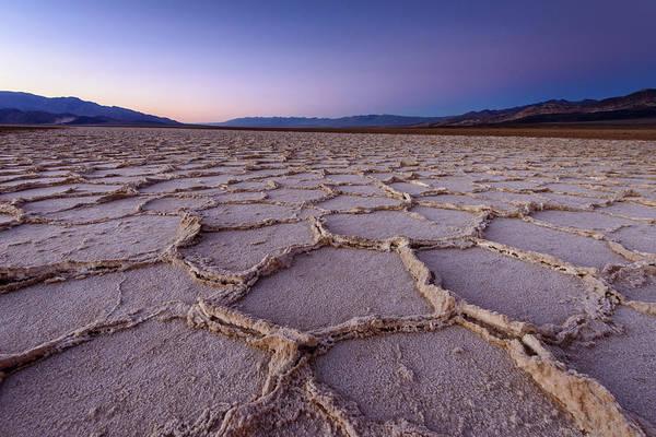 Scenics Art Print featuring the photograph Salt Flat Basin by Piriya Photography