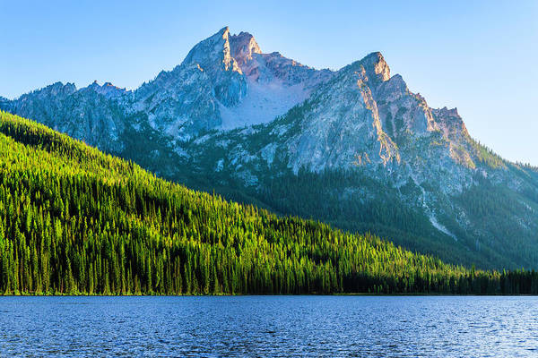 Scenics Art Print featuring the photograph Sawtooth Mountains And Stanley Lake by Dszc