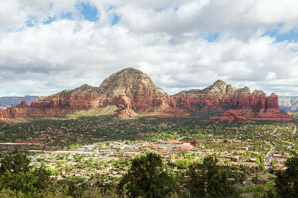 Scenics Art Print featuring the photograph Sedona, Arizona, From Above by Picturelake