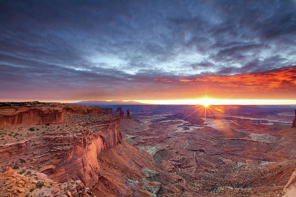 Tranquility Art Print featuring the photograph Sunrise At Canyonlands by Hansrico Photography