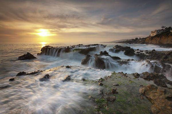 Scenics Art Print featuring the photograph The Cauldron - Victoria Beach by Images By Steve Skinner Photography