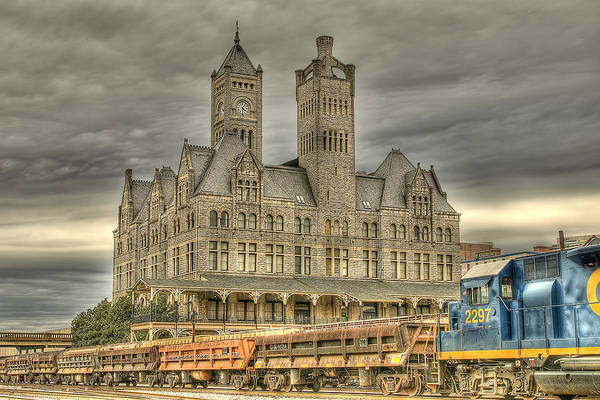 Nashville Art Print featuring the photograph Union Station by Brett Engle