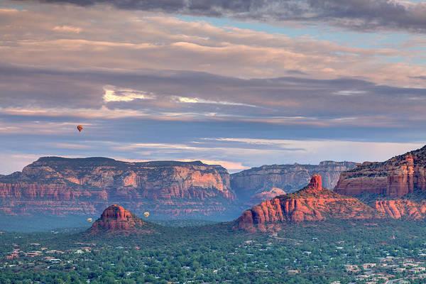 Scenics Art Print featuring the photograph Usa, Arizona, Sedona by Michele Falzone