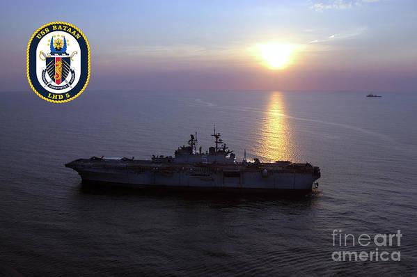 US Navy USS Bataan LHD-5 T-Shirt