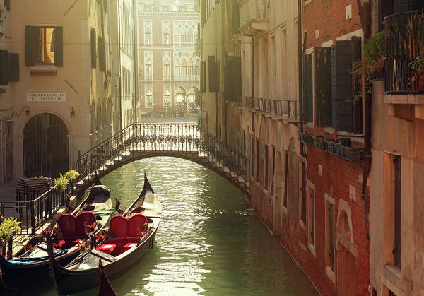Veneto Art Print featuring the photograph Venetian Canal by Mammuth