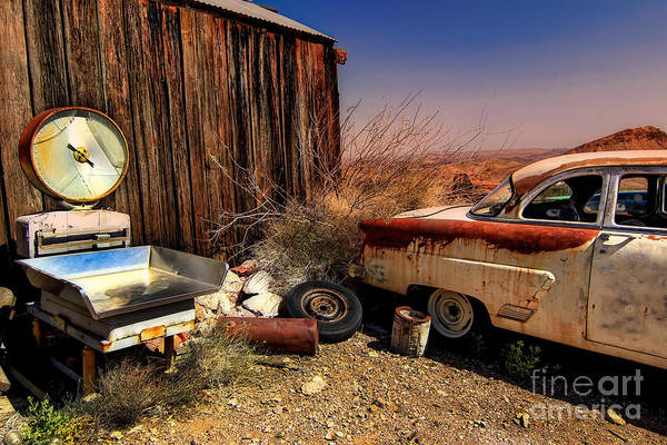 Car Art Print featuring the photograph Waiting on a Woman by Brenda Giasson