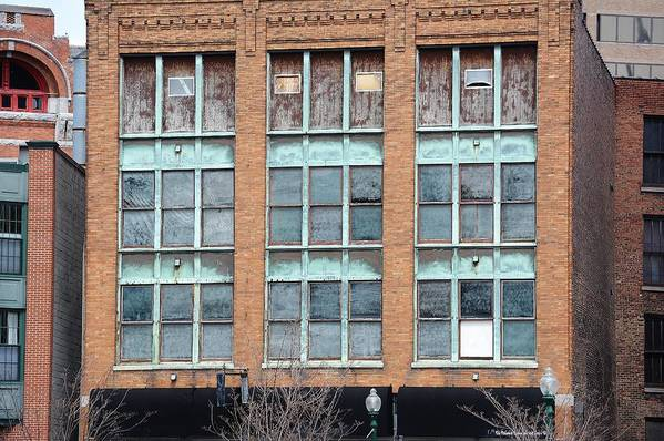 Building Art Print featuring the photograph Windows by Lisa Kane