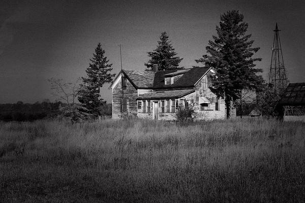 Door County Art Print featuring the photograph Abandoned Farm by Chuck De La Rosa
