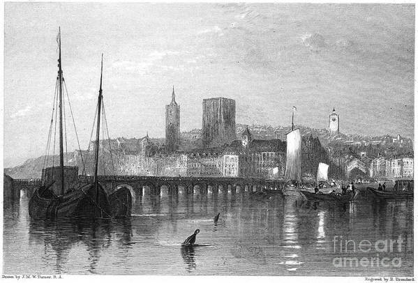 1835 Art Print featuring the photograph France: Beaugency by Granger