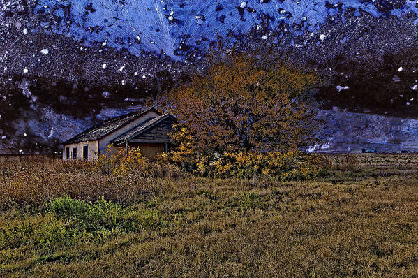 Old House Art Print featuring the photograph Time Before Winter by Robert Hudnall