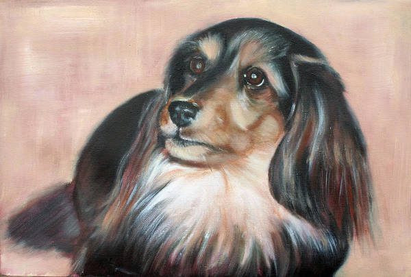 Art Print featuring the painting Bonnie by Fiona Jack