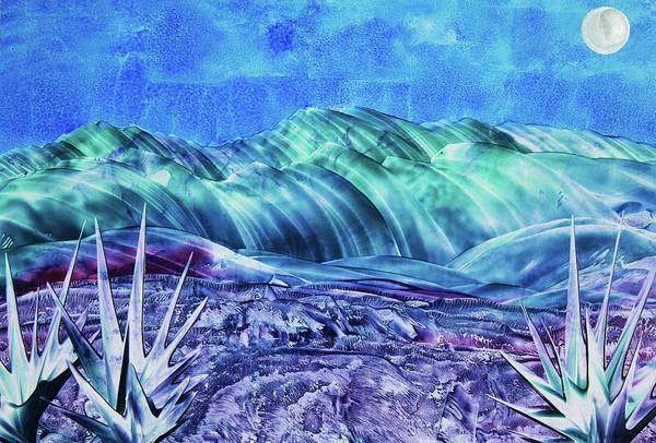 Encaustic Art Print featuring the painting Gallup by Melinda Etzold