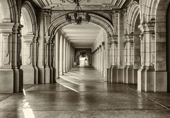 A Nice Stroll At Balboa Park by Joseph S Giacalone