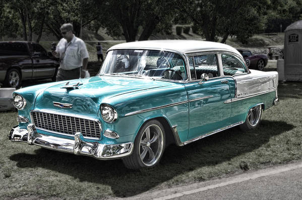 55 Chevy Bel Air by Sharon Popek