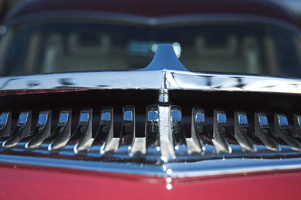 Auto Art Print featuring the photograph A Toothy Grin by Richard Henne
