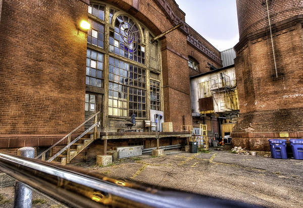 Factory Art Print featuring the photograph Behind the Paper Plant by John Hoey