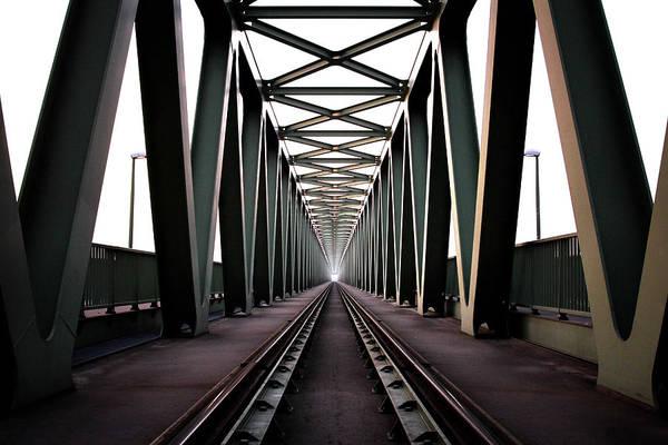 Bridge Art Print featuring the photograph Bridge by Zoltan Toth