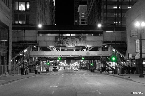 Chicago Art Print featuring the photograph Chicago Train Station by Al Blackford