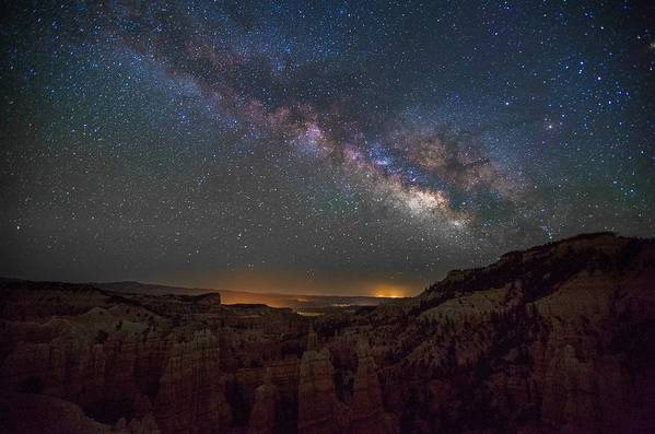 Fairyland Canyon Art Print featuring the photograph Fairyland Canyon by Starry Night
