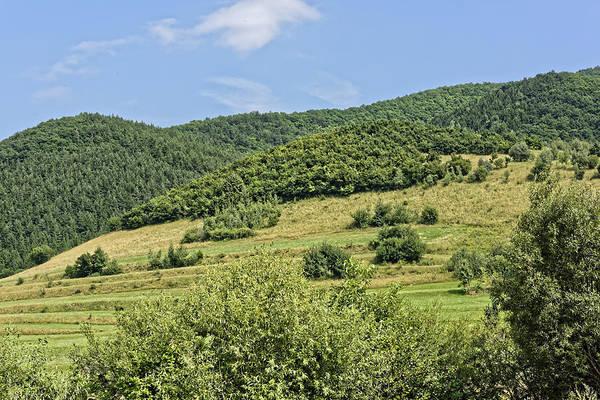 Active Art Print featuring the photograph Gardening field near Orlat Sibiu county Romania by Adrian Bud