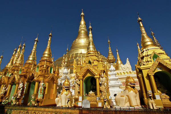 Asia Art Print featuring the photograph Golden Spires by Michele Burgess