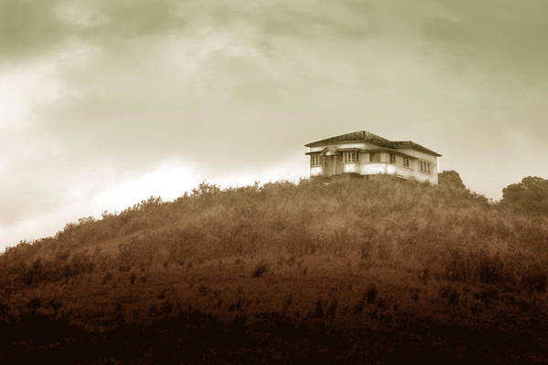 Landscape Art Print featuring the photograph Home on the Range by Holly Kempe