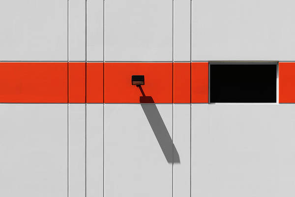 Urban Art Print featuring the photograph Industrial Minimalism 33 by Stuart Allen