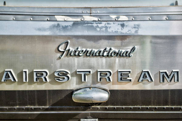 Antique Art Print featuring the photograph International Airstream by Sharon Popek
