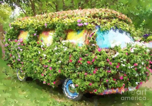 Volkswagen Art Print featuring the photograph Magic Bus by Debbi Granruth