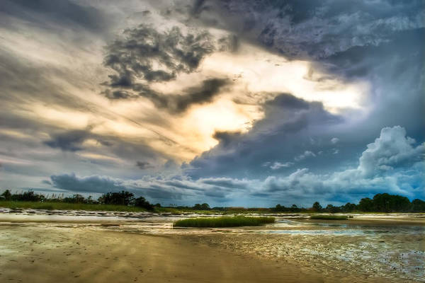 Beach Art Print featuring the photograph Majestic Sky by Rich Leighton