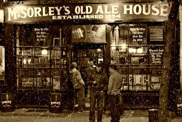 Mcsorley's Old Ale House Art Print featuring the photograph McSorley's Old Ale House by Randy Aveille