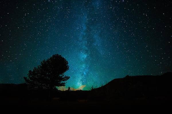 Milky Way Art Print featuring the painting Milky Way by Starry Night