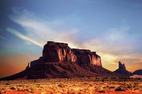 Mesa Art Print featuring the photograph Monument formations by Roy Nierdieck