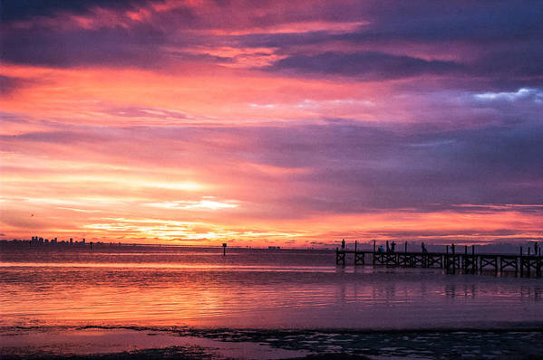 Sunset Art Print featuring the photograph Nature's Palette by Norman Johnson