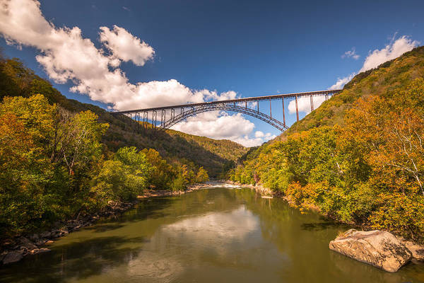 Bridge Art Print featuring the photograph New River Gorge Bridge by Rick Dunnuck