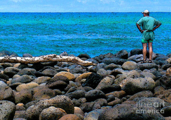 Hawaii Art Print featuring the photograph Ocean Watch by James Temple