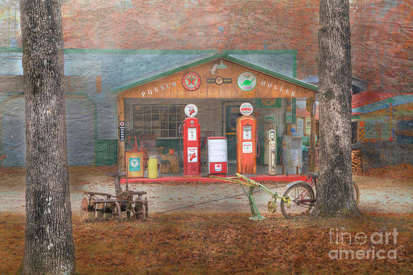 Travel Art Print featuring the photograph Possum Holler by Larry Braun