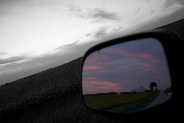 Landscape Art Print featuring the photograph Present Hindsight by Dylan Punke