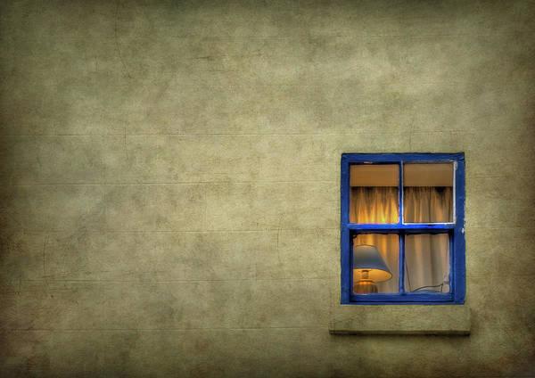 Window Art Print featuring the photograph Silent I Wait by Evelina Kremsdorf