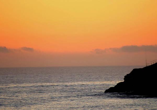 Sunsets Art Print featuring the photograph Sunset At Natural Bridges by Liz Santie