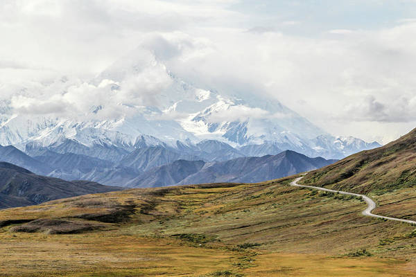 Denali Art Print featuring the photograph The High One - Denali by Marla Craven