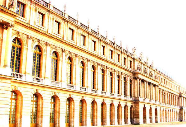 Versailles Art Print featuring the photograph The Palace by Amanda Barcon