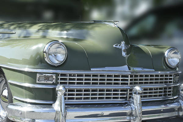 Car Art Print featuring the photograph Vintage Chrysler by Linda A Waterhouse