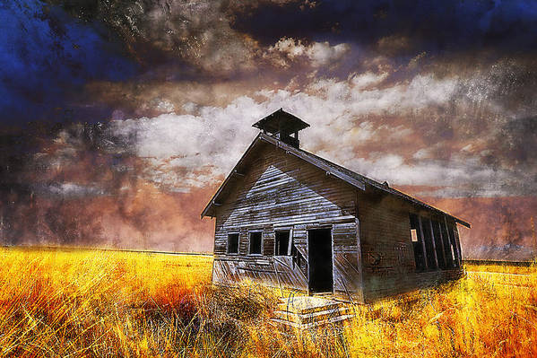 House Art Print featuring the photograph Will this be the way of education in the US by Jeff Burgess