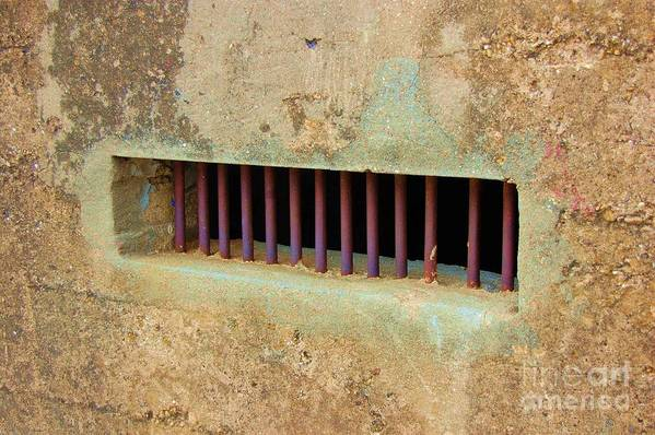 Jail Art Print featuring the photograph Window to the World by Debbi Granruth