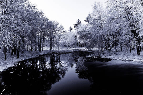 Winter Art Print featuring the photograph Winter Landscape by Edward Myers