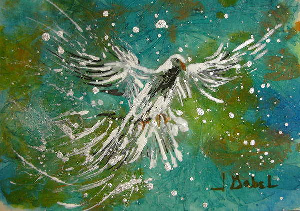 Acrylic Art Print featuring the pastel You Are His Masterpiece by Laura Gabel